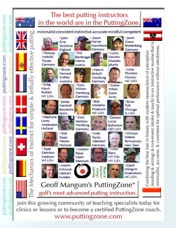Puttingzone Coaches Certification